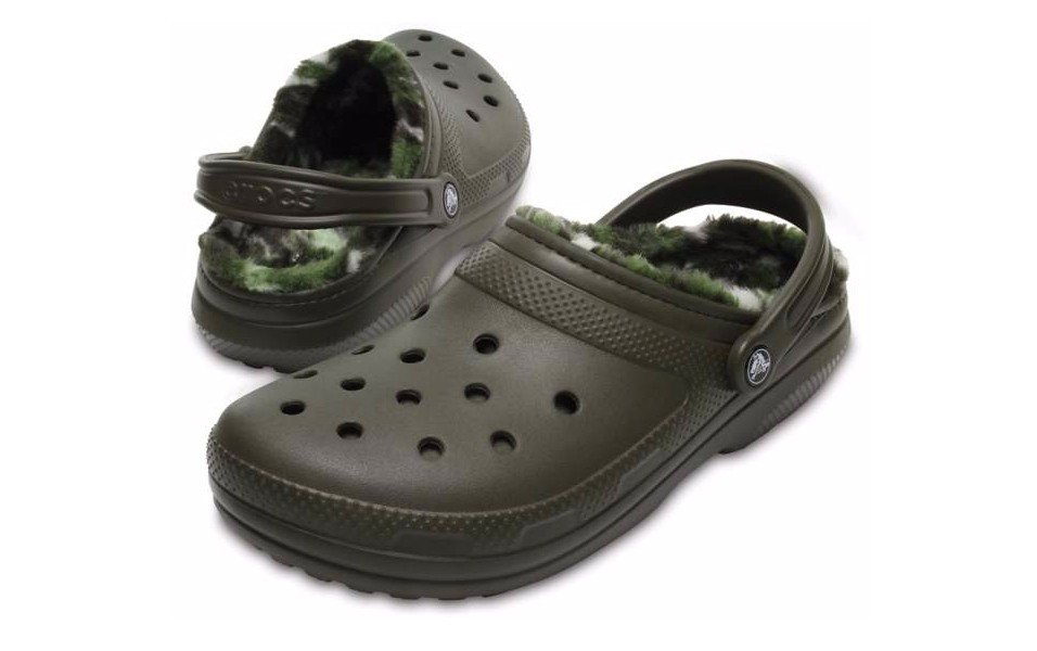 fleece lined crocs