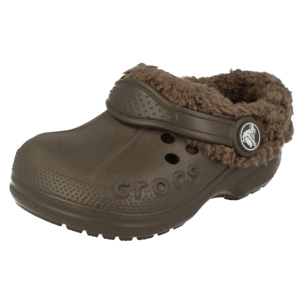 fur lined crocs