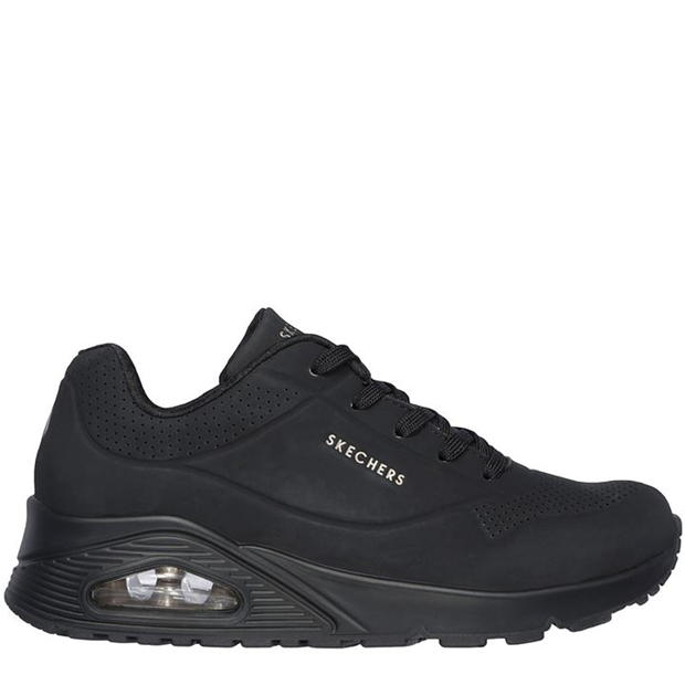 womens black skechers